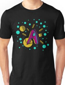 Letter A - My Initial Unisex T-Shirt