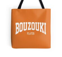 Bouzouki Player Tote Bag