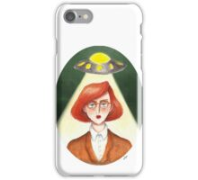 Aliens Don't Exist iPhone Case/Skin