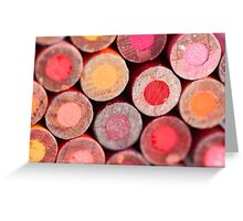 Color Pencils Greeting Card