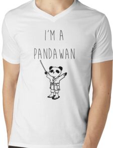 Pandawan Mens V-Neck T-Shirt