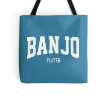 Banjo Player Tote Bag