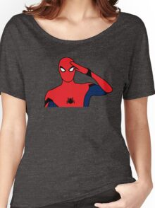 SpiderMan Salute Women's Relaxed Fit T-Shirt