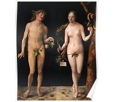 Albrecht Durer - Adam And Eve Poster
