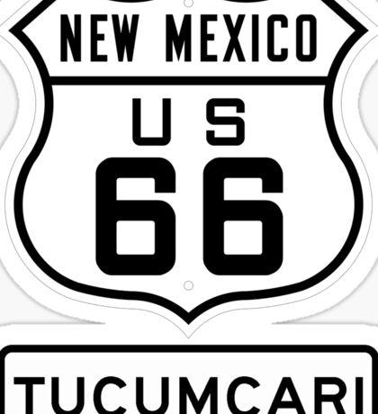 Route 66 - The Mother Road - Tucumcari New Mexico Sticker