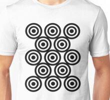 Black target Unisex T-Shirt