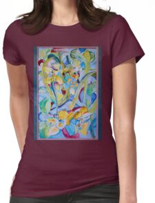 Orchid--Reveal Womens Fitted T-Shirt