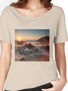 The Giant's Causeway , Co Antrim , Northern Ireland Women's Relaxed Fit T-Shirt