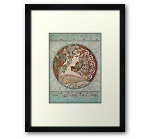 Alphonse Mucha - Ivy, 1901  Framed Print