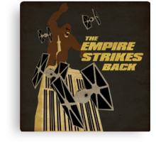 The Empire Strikes Back Canvas Print