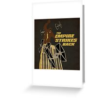 The Empire Strikes Back Greeting Card