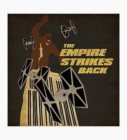 The Empire Strikes Back Photographic Print