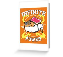 Infinite power - vr.2 Greeting Card
