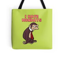 Monday Monkey Lives For The Weekend, Sir. Tote Bag