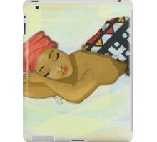Sleeping in Samakaka iPad Case/Skin