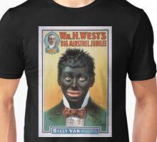 Performing Arts Posters Wm H Wests Big Minstrel Jubilee 1785 Unisex T-Shirt