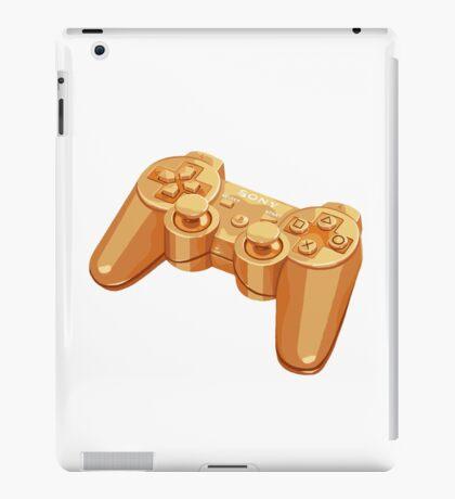 gold gamepad iPad Case/Skin