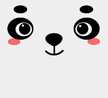 Panda Bear by rikkichan