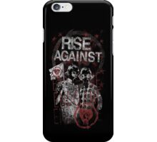 Rise Against Gas Masks Poster iPhone Case/Skin