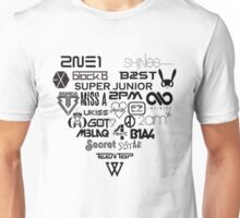 Kpop Group logos  Unisex T-Shirt