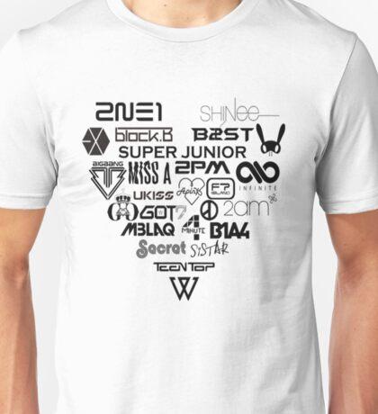 Kpop Group logos  Unisex T-Shirt