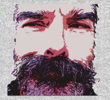 Z's Wild Beard Too One Piece - Long Sleeve
