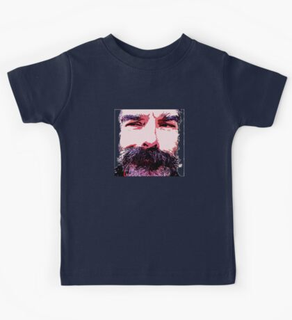 Z's Wild Beard Too Kids Tee