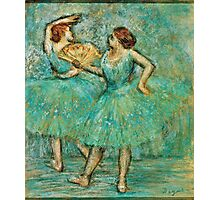 Edgar Degas - Two Dancers,  1905 ( 1905)  Photographic Print