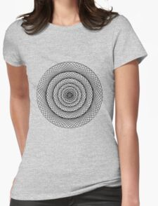 Sacred Circle II Womens Fitted T-Shirt