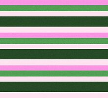 Pink Roses in Anzures 1 Stripes 4H by Christopher Johnson