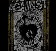 Rise Against Smashed Frame by ultimatejeb