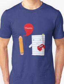 Pencil + paper Unisex T-Shirt