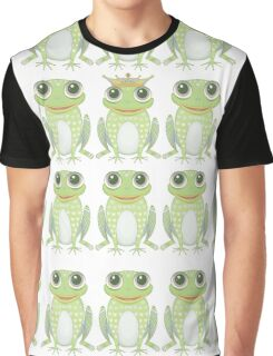 1 Heavy Crown & 9 Frogs Graphic T-Shirt