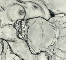 Egon Schiele - Zeichnungen VIII  (1915)  Sticker