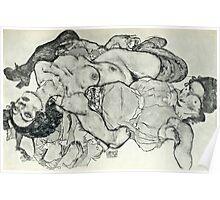 Egon Schiele - Zeichnungen VIII  (1915)  Poster