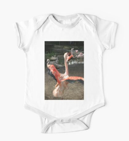 Chilean Flamingo One Piece - Short Sleeve