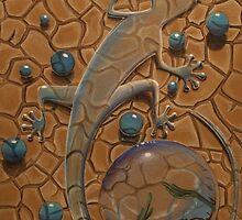 Gecko Glass by chaplincat