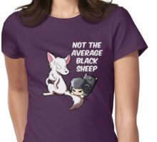 Wolf and Sheep Womens Fitted T-Shirt