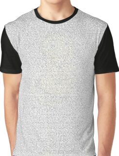 Bee Movie Script With Subtle Barry Bee Benson  Graphic T-Shirt