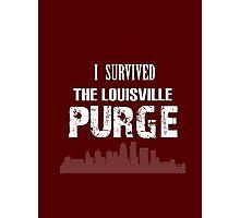Purge Survival Souvenir Shirt Photographic Print