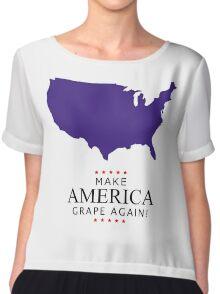 Make America Grape Again Chiffon Top