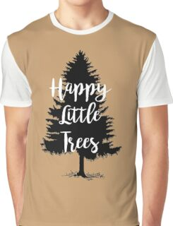 Happy Little Trees (Bob Ross) Graphic T-Shirt