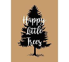 Happy Little Trees (Bob Ross) Photographic Print