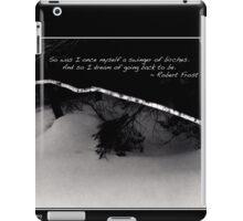 Frosts Birch Dreams Poster iPad Case/Skin