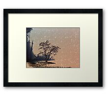 A place called home. Framed Print