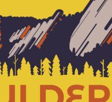 Boulder Flatirons Sticker