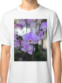 Purple Flowers  Classic T-Shirt