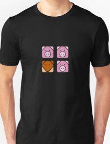 3 little pigs square Unisex T-Shirt