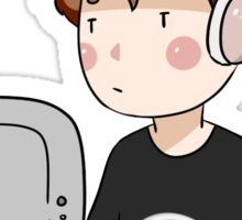 Computer Dan Sticker