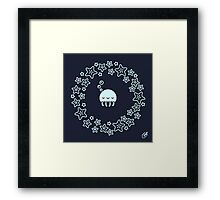 Goodnight Jellyfish Framed Print